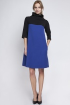 Dress with golf, SUK121 indigo