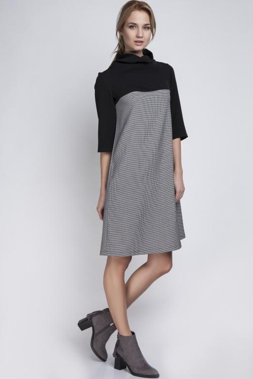 Sukienka z golfem, SUK121 pepito