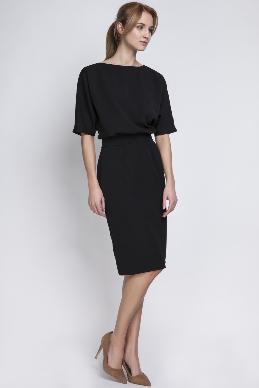 Dress tapered bottom, SUK123 black