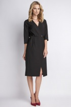 Elegancka sukienka, SUK131 czarny