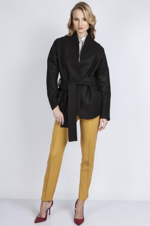 Jesienny płaszczyk, ZA115 czarny