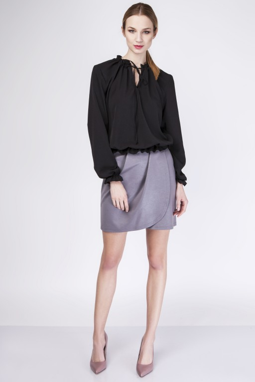 Subtle blouse, BLU129 black