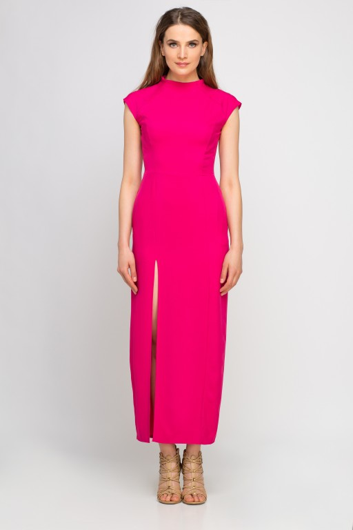 Maxi dress, SUK140 fuchsia