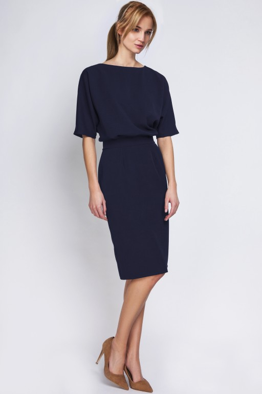 Dress tapered bottom, SUK123 navy