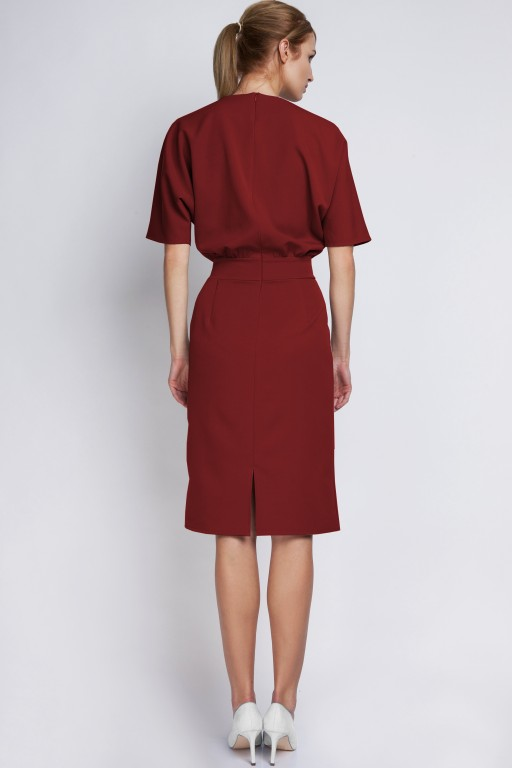 Dress tapered bottom, SUK123 burgundy