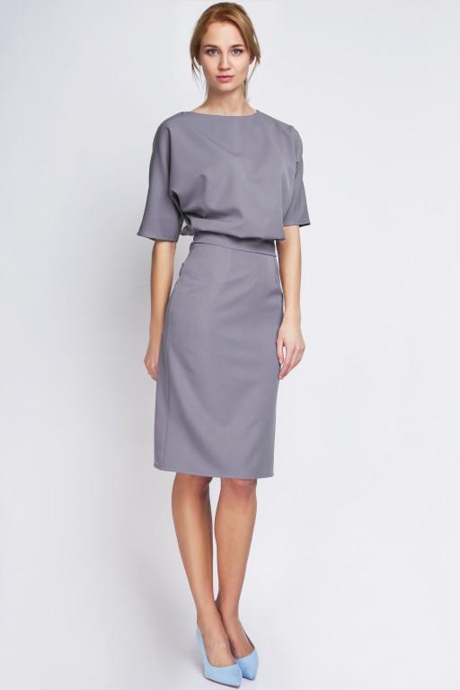 Dress tapered bottom, SUK123 gray