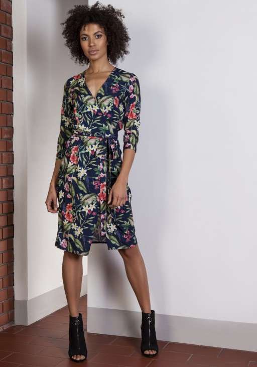 Envelope flower dress, SUK152 flowers