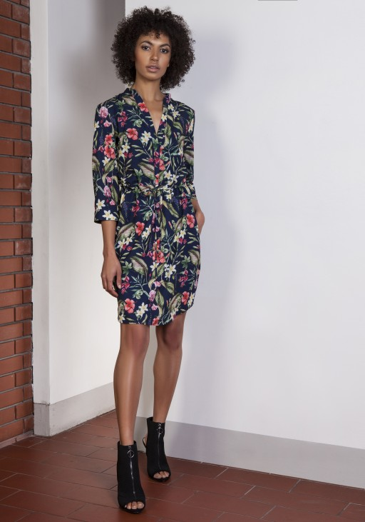 Dress with pincers, SUK149 flowers