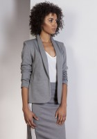 The stylish jacket, ZA113 gray