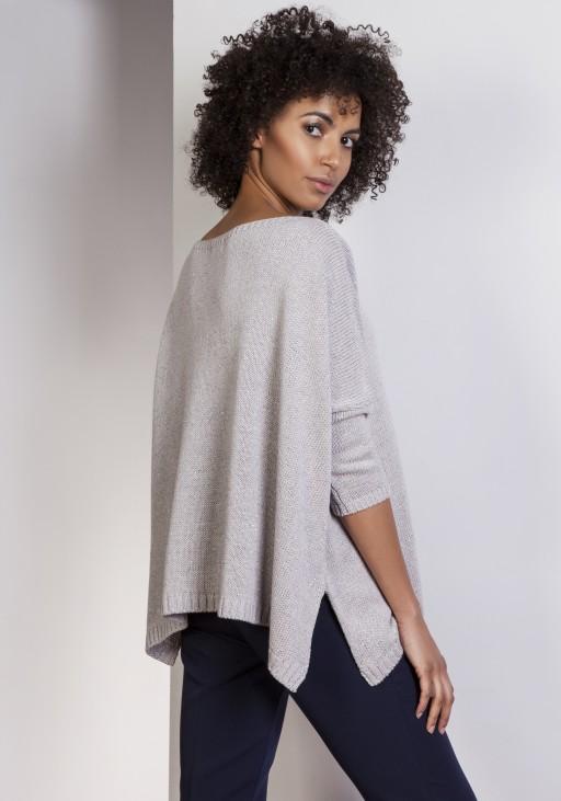 Sweater oversize, SWE114 gray