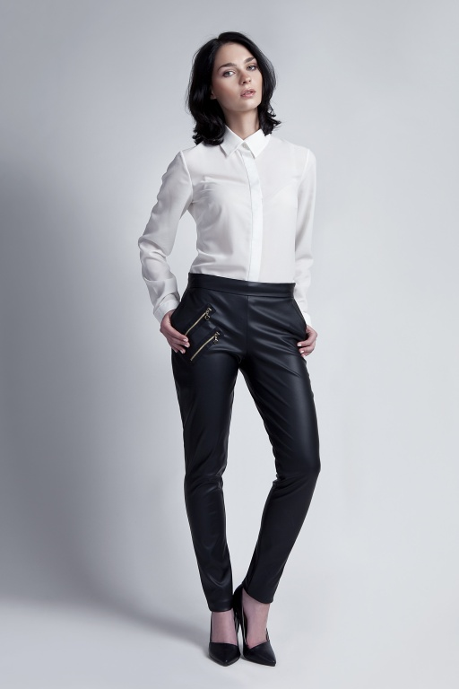 Leather trousers, SD108 ecoleather