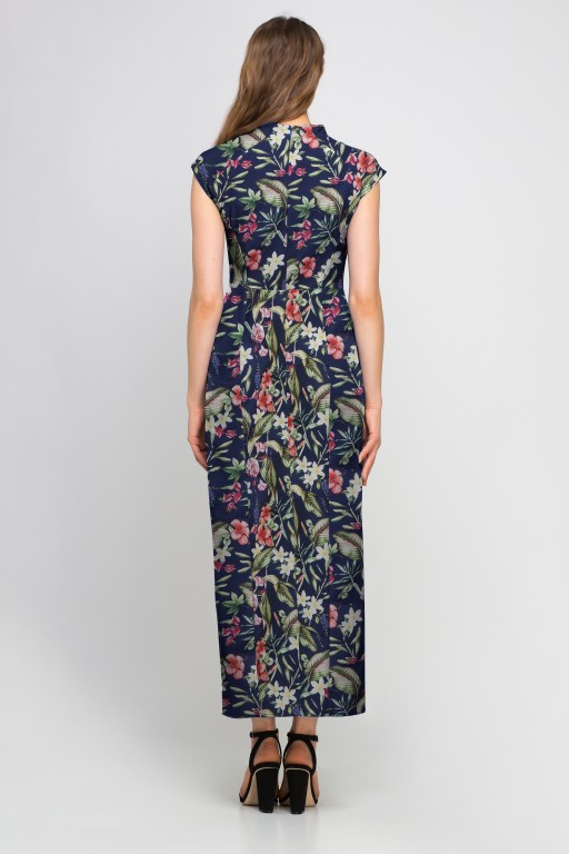 Maxi dress, SUK140 flowers