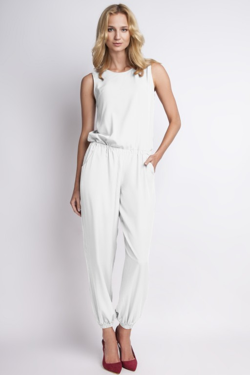 Airy jumpsuit, KB101 ecru