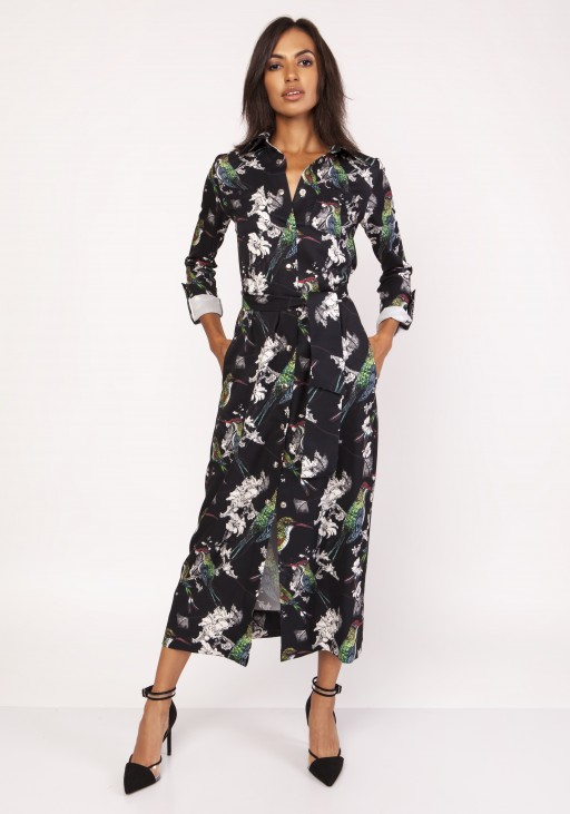 Maxi dress , SUK159 birds