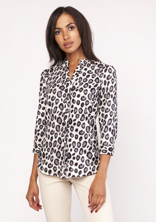 Shirt with a loose cut, K111 panther
