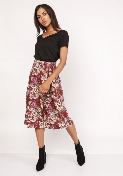 Flared skirt, SP119 pattern