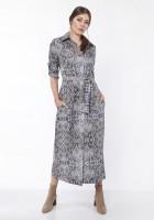 Maxi dress , SUK159 snake print