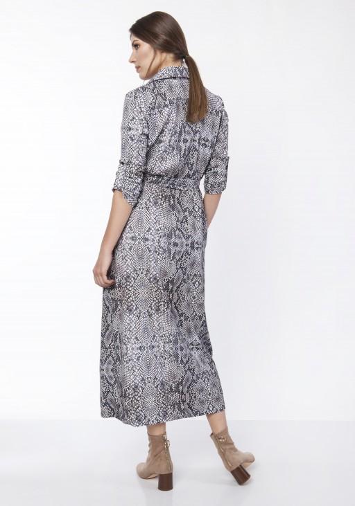 Sukienka maxi, SUK159 wąż