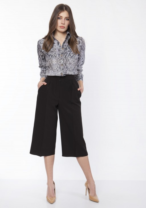 Women's culotte pants , SD118 black
