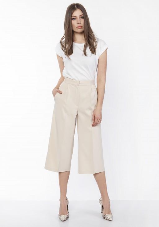 Women's culotte pants , SD118 beige