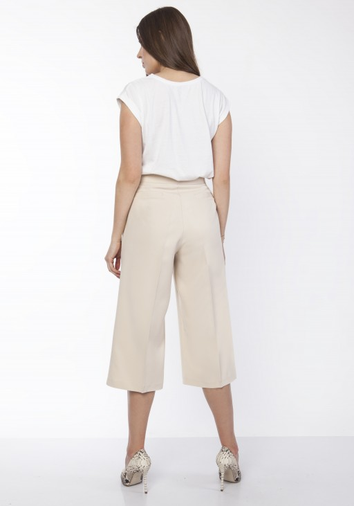Women's culotte pants , SD118 beige