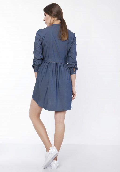 Sukienka koszulowa, SUK164 jeans