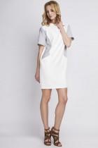 Sukienka z kieszeniami, SUK!24 ecru