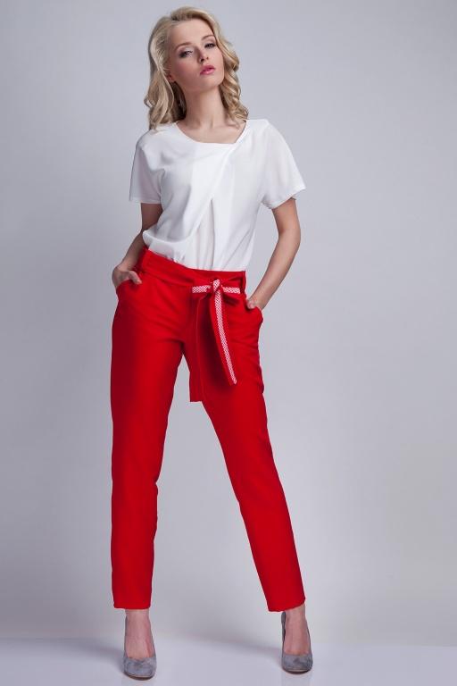 Spodnie, SD109 czerwony