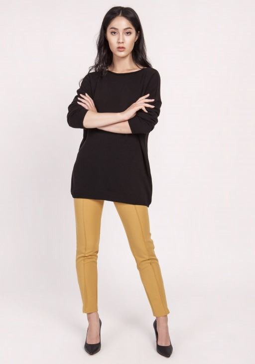 Knitted blouse, SWE121 black