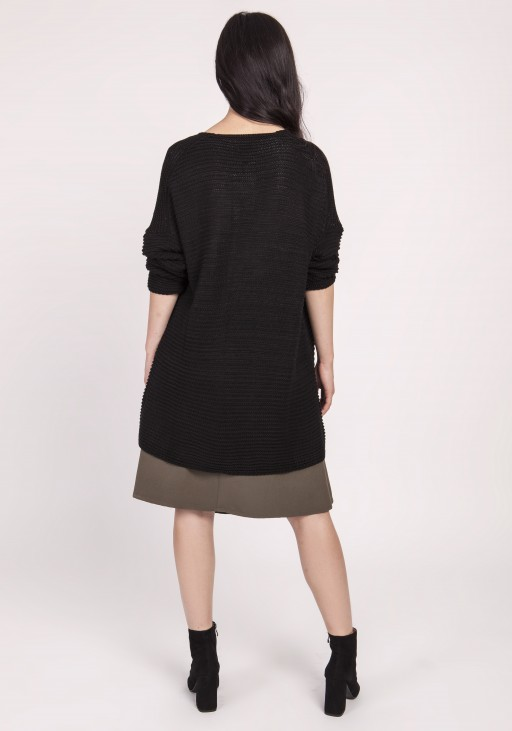 Knitted blouse, SWE120 black