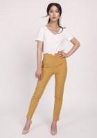 Spodnie, SD112 musztarda