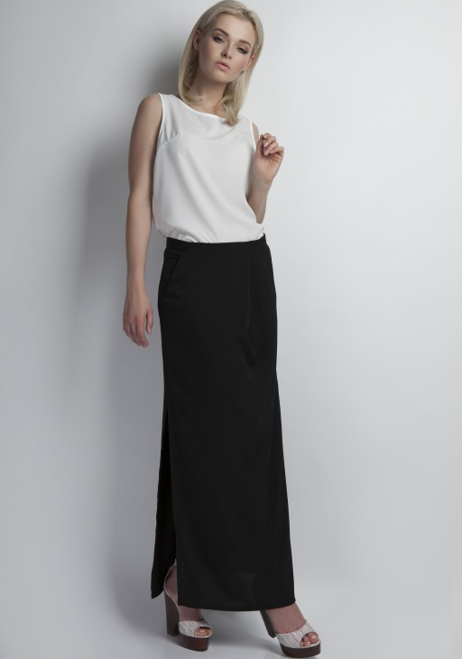 Maxi skirt, SP108 black