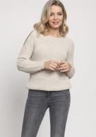 Raglanowy sweter, SWE126 beż