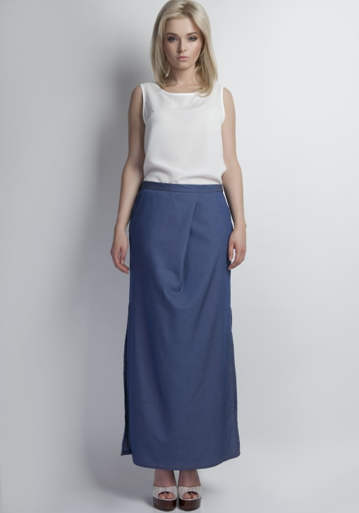 Maxi skirt jeans, SP109 jeans