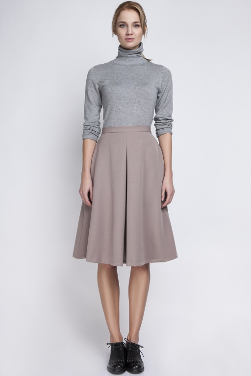 Midi skirt, SP110 beige