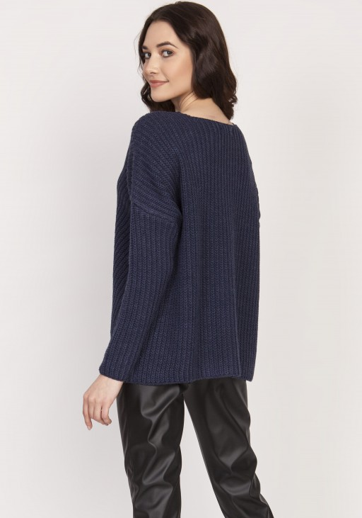Oversized giant with an asymmetrical cut, SWE124 navy