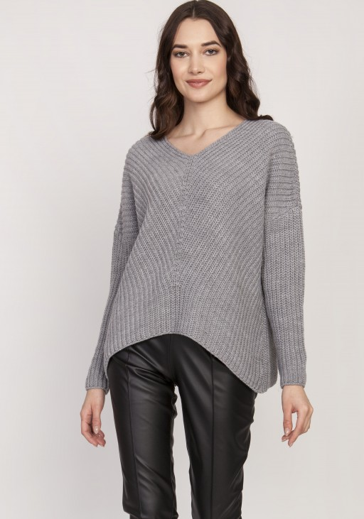 Oversized giant with an asymmetrical cut, SWE124 grey