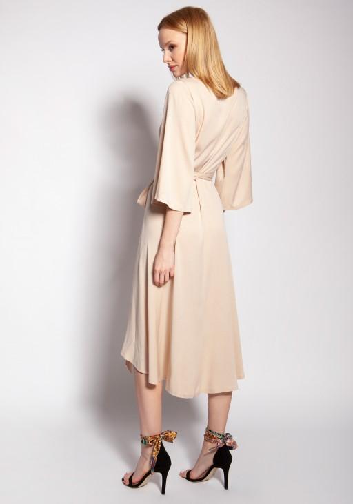 Envelope dress, SUK185 beige