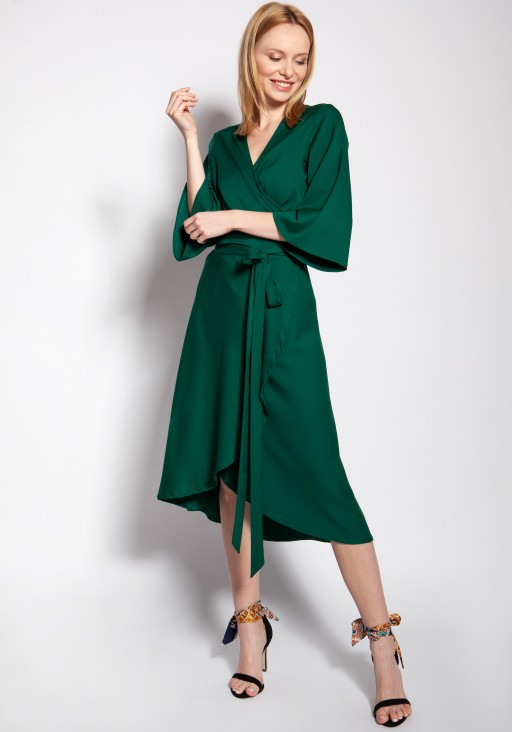 Envelope dress, SUK185 green