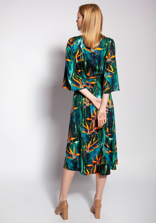 Envelope dress, SUK186 bamboo