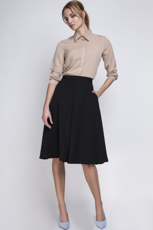 Midi skirt, SP110 black