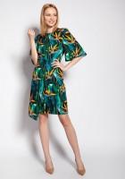 Sukienka dopasowana, SUK188 bambus