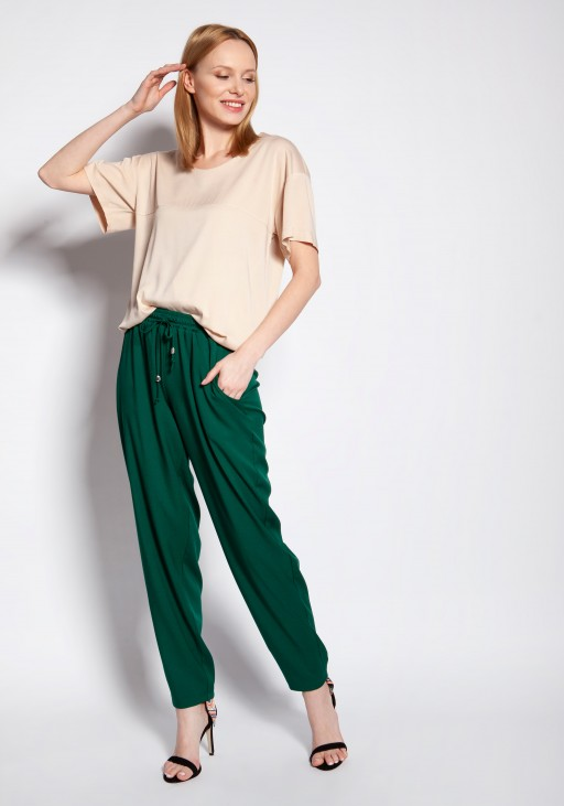 Loose pants, SD121 green