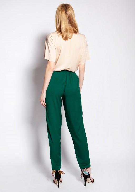 Luźne spodnie, SD121 zielony