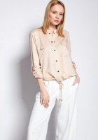 Jacket fastened with snaps, KR105 beige