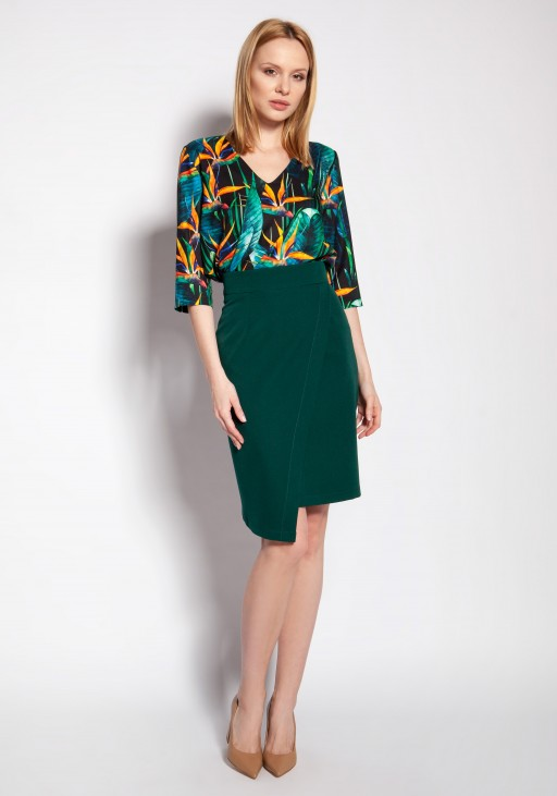 Fitted skirt, SP126 green