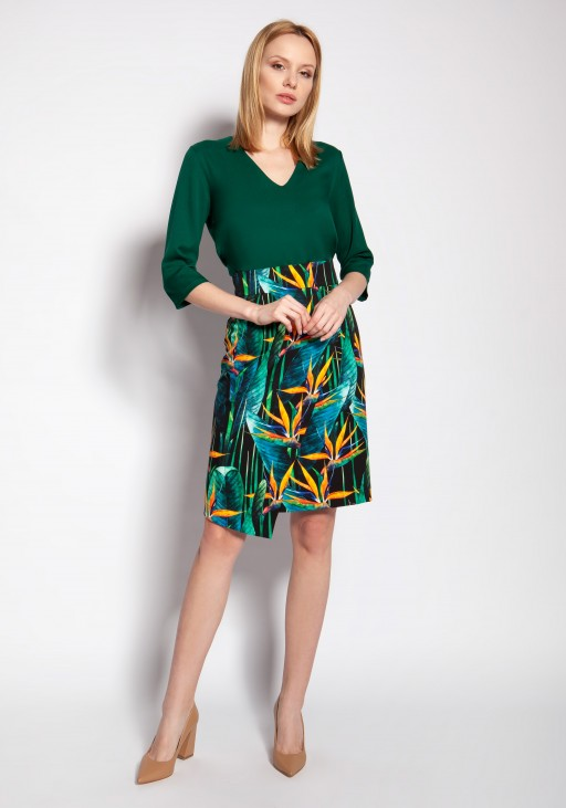 Fitted skirt, SP127 bamboo