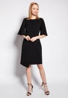 Sukienka dopasowana, SUK187 czarny