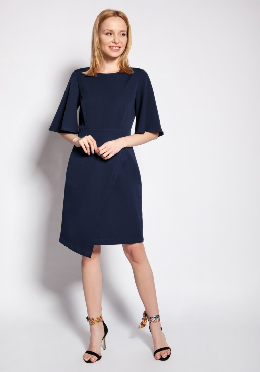 Fitted dress, SUK187 navy