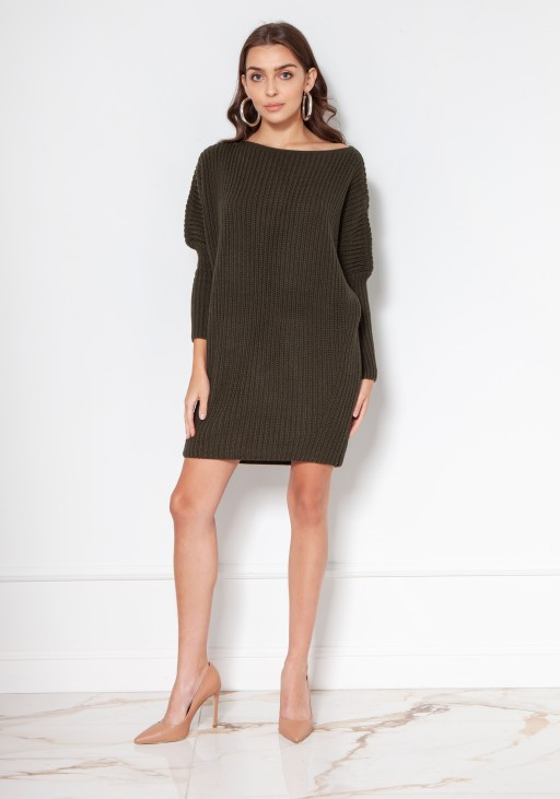 Oversized sweater - tunic SWE135 black